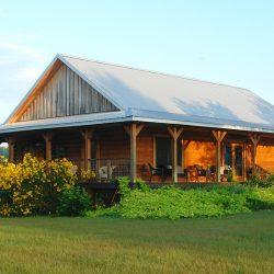 modułowe domy drewniane